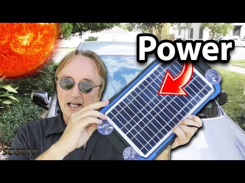 Here's Something You Never Knew You Needed for Your Car - Solar Power
