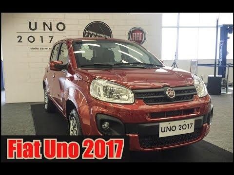 Fiat Uno 2017 a partir de R$ 41.840,00