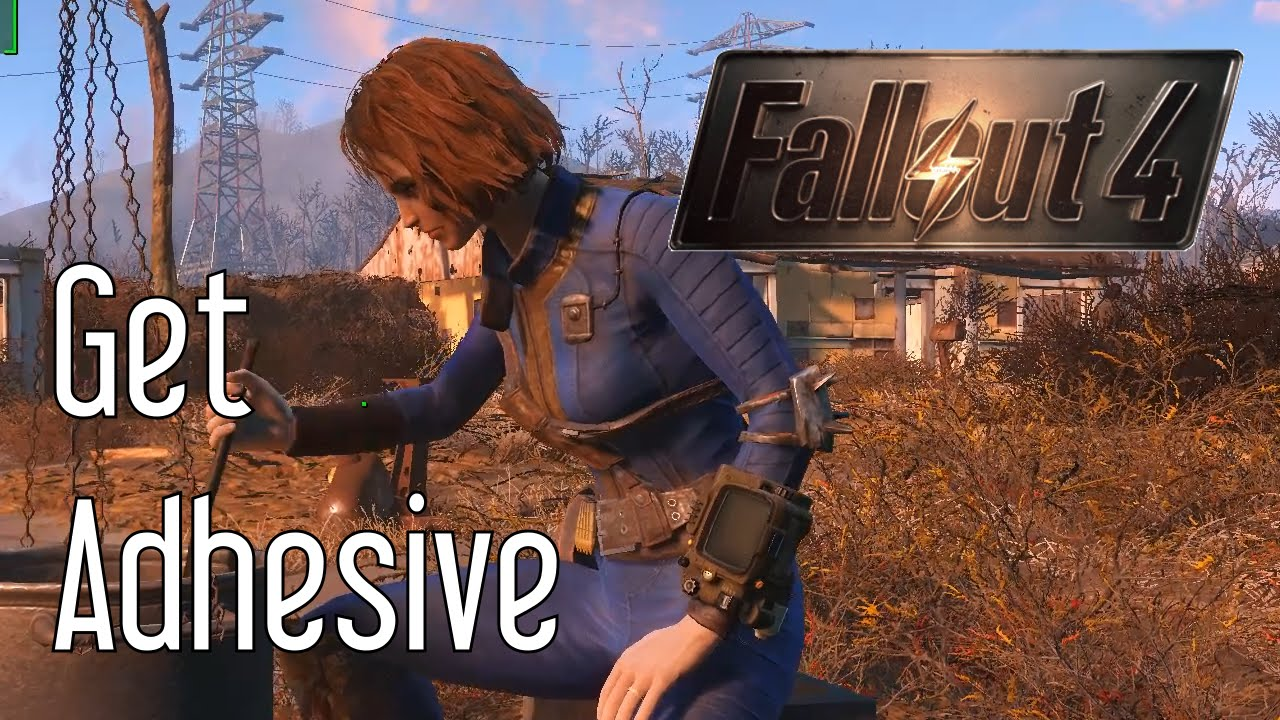 Get Adhesive in Fallout 4
