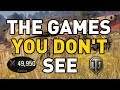 The Games You Don't See in World of Tanks!
