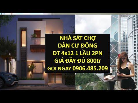 Nhà dưới 1 tỷ ở HCM  nhà dưới 500tr Chợ Bình Chánh LH 0906485209