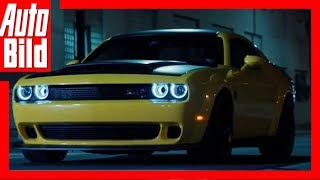 Dodge Challenger SRT Demon (2018) - Offizieller Teaser