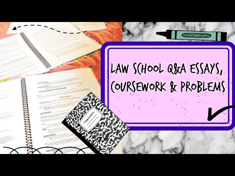 THINGS I WISH I KNEW AT LAW SCHOOL [EPISODE 1]: How to write a legal essay