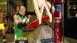 NXT rookies Power of The Punch competition (NXT 08 10 2010)