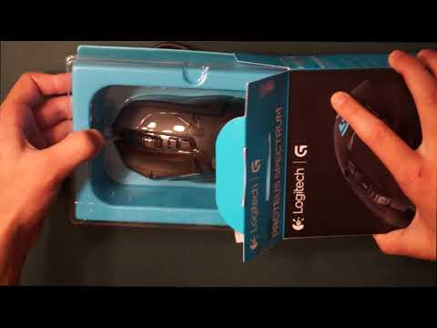 Logitech G502 Unboxing + Software Download