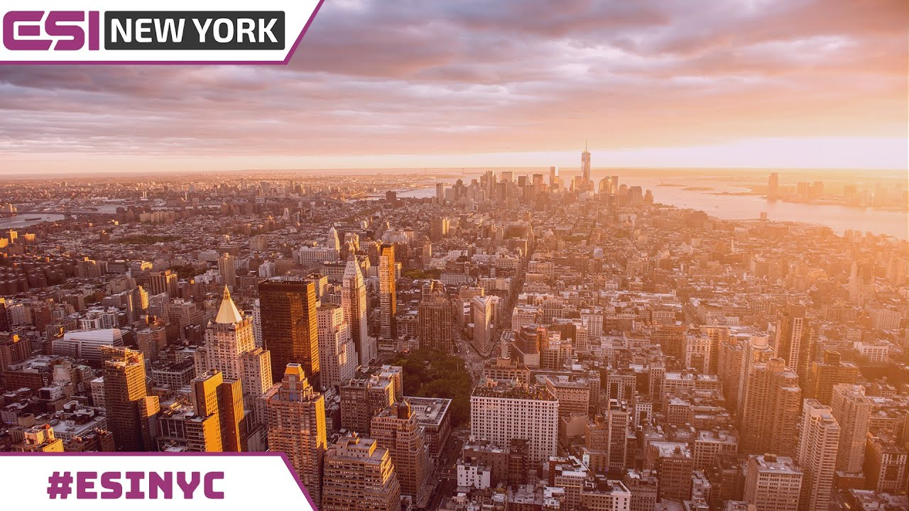 #ESINYC Preview - New York, You Make it Happen
