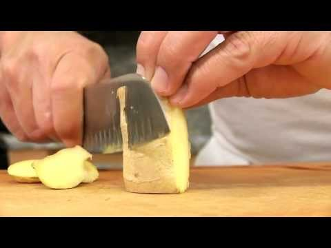 How to Grate Ginger