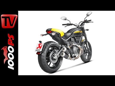 Akrapovic Auspuffanlage für Ducati Scrambler | Motorräder Dortmund 2016