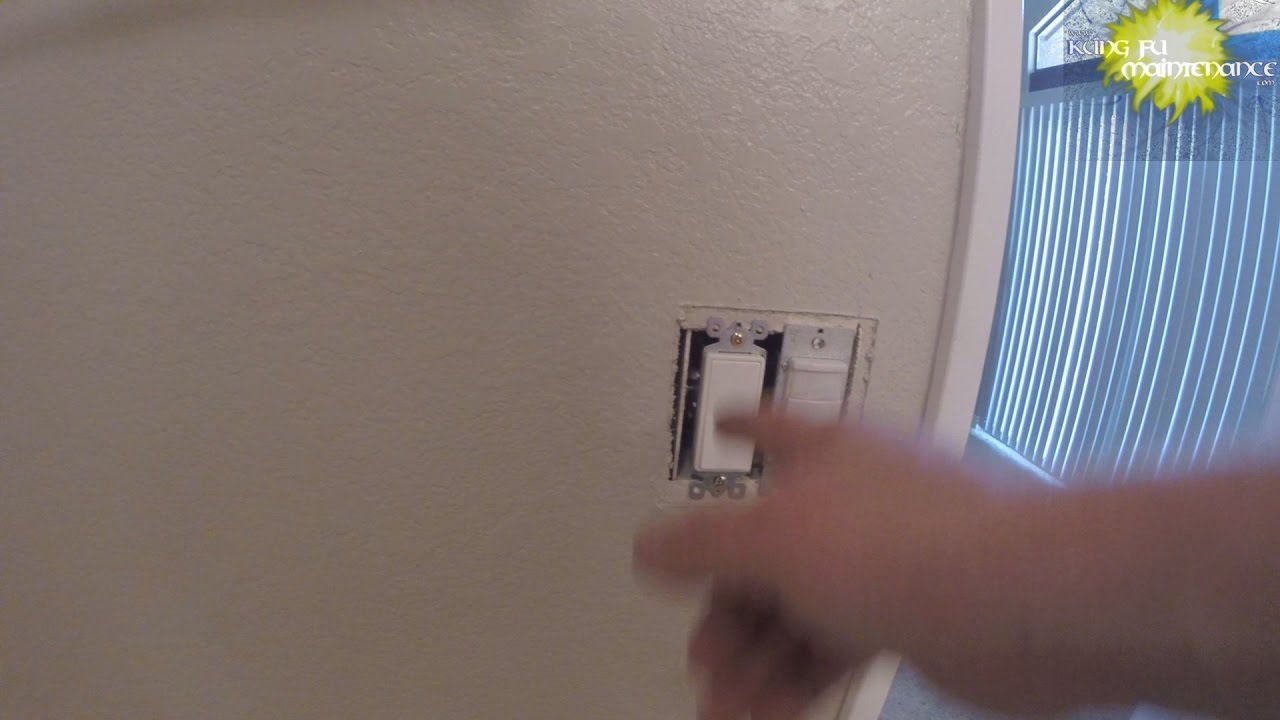 Option 2 Power From Light Fixture To Light Switch