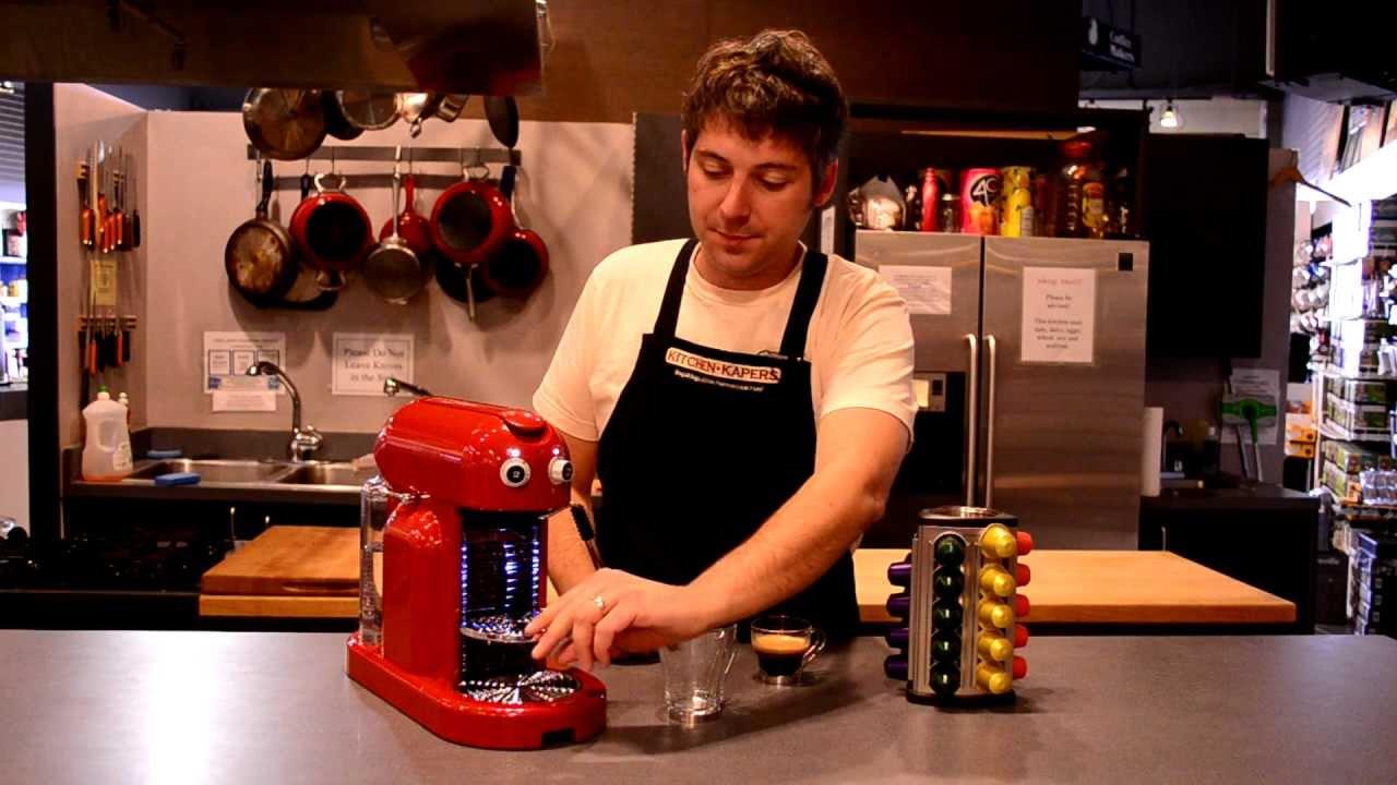 Nespresso Maestria Demonstration Youtube