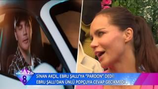 Sinan Akçıl Ebru Şallı'ya Pardon Dedi Ebru Şallı'dan Ünlü Cevapcıya Cevap Gecikmedi