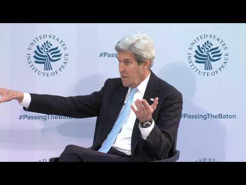 """Secretary Kerry Participates in U.S. Institute of Peace's """"Passing the Baton"""" Event"""
