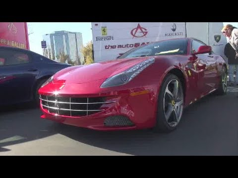 Ferrari FF-Acceleration, Driving and Walkaround videos
