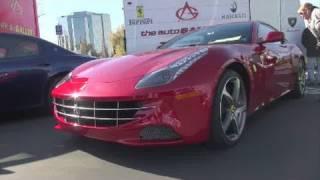Ferrari FF-Acceleration, Driving and Walkaround videos