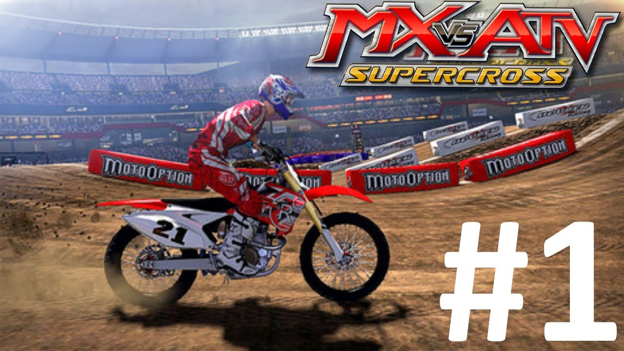 mx vs atv supercross encore ps4 walkthough part 1 i. Black Bedroom Furniture Sets. Home Design Ideas
