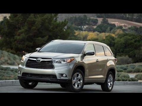 2015 Toyota Highlander Start Up and Review 3.5 L V6