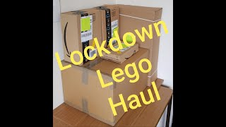 Another Lego Lockdown Haul. Items purchased from Amazon, Lego.com & Legoland, Including rare sets!