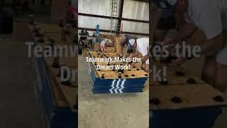 Gymnastics Spring Floor Assembly (Part I)