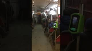 Ukranya tramvay ile yolculuk sadece 50 kuruş