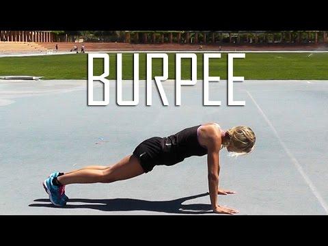 Cómo hacer un Burpee