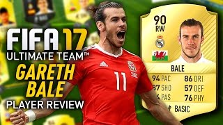 Скачать FIFA 17 GARETH BALE 90 PLAYER REVIEW FIFA 17 ULTIMATE TEAM