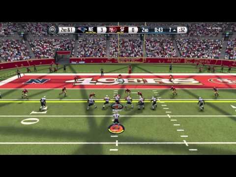 Madden NFL 16 ps4 illegal center run