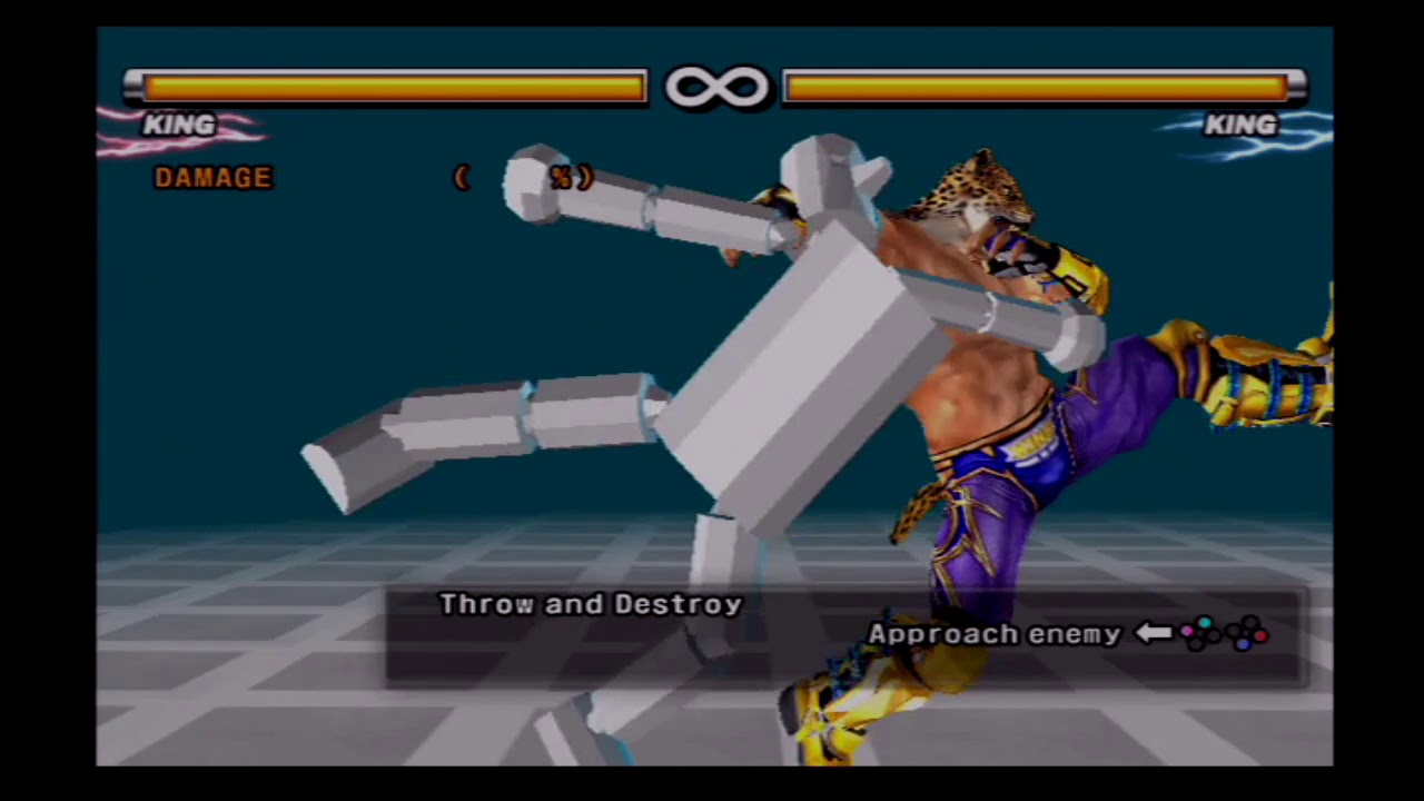 combos de king tekken 5 ps2