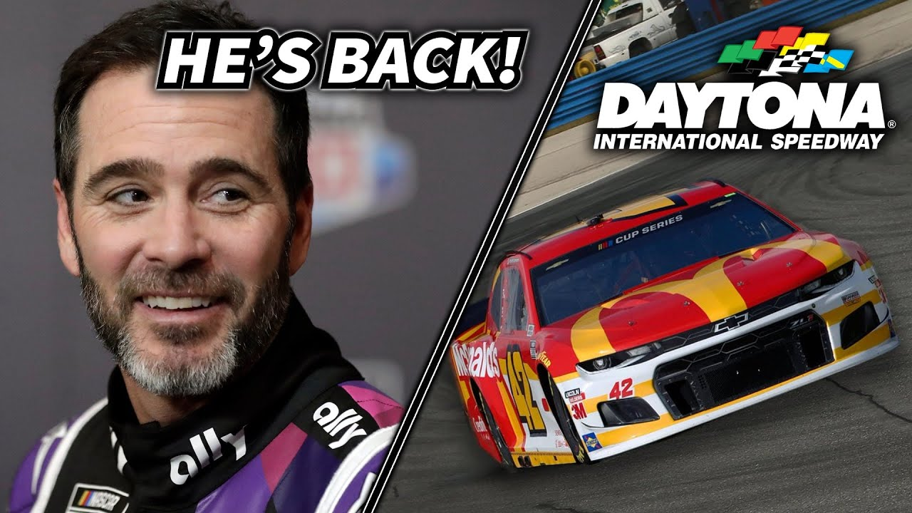 Jimmie Johnson CLEARED To Race This Weekend & NASCAR Racing on Daytona Road Course!