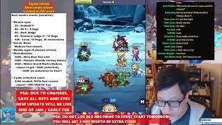 Taptap Heroes - Short Peaks stream, CNY preview