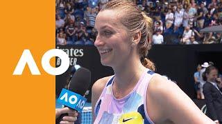Petra Kvitova  on-court interview (4R) | Australian Open 2020