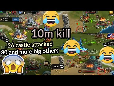 Clash Of Queen New 2018 Kingdom War Kvk And Kingdom In Attack