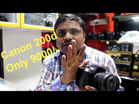 Canon 200D Only @ 9000 Candni Chowk Camrea Market Delhi