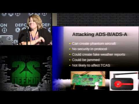 DEF CON 22 - Dr. Phil Polstra and Captain Polly - Cyberhijacking Airplanes: Truth or Fiction?