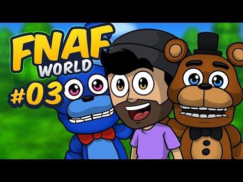 CONSEGUIMOS A LOS ANIMATRÓNICOS NIGHTMARE !!   FNaF World #3