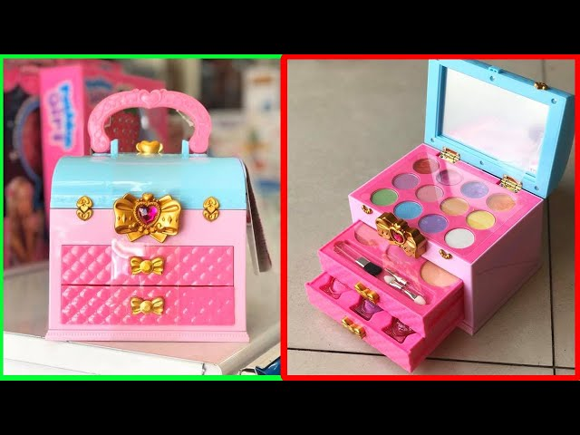 [Chim Xinh Channel] Đồ chơi trang điểm có sơn móng tay, son phấn..cho bé - Make up, nails polish for kids (Chim Xinh)