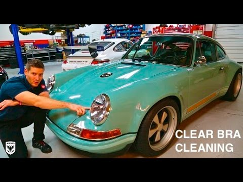How to Properly Maintain Your Clear Bra's: Singer Porsche