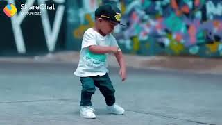 Little boy dance on Punjabi song