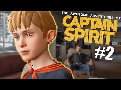 The Amazing Adventures of Captain Spirit - Firecracker + Snowman = :) #2