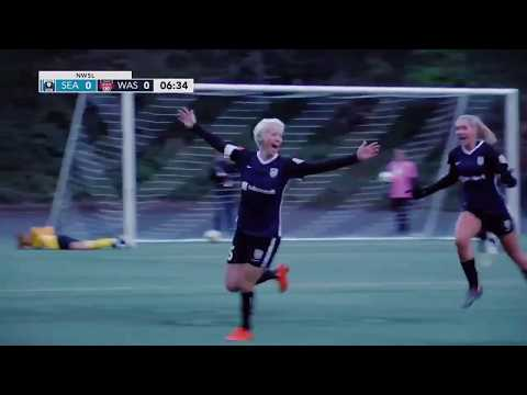 GOAL: Megan Rapinoe free kick goal for Seattle Reign FC