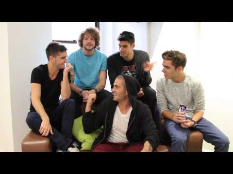 The Wanted play Most likely to...