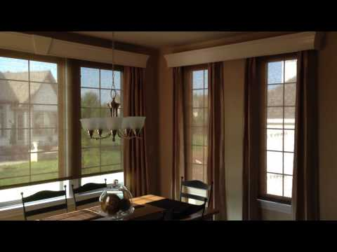 Motorized Roller Shades, Drapery and Cornices installed by MWT