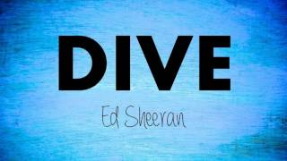 Ed Sheeran-Dive(Karaoke/No Vocal/ Backing Track/ Track Acoustic)