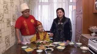 Ак Мөөр кыргыз салаты