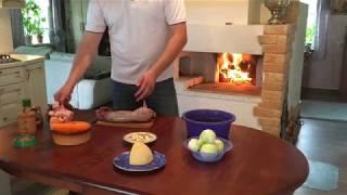 Блюдо В Русской Печи. Заяц Запечённый В Сметане