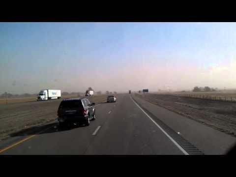 Big Springs, Nebraska Dust Storm