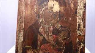 Икона 18 века Богородица Утоли моя печали, икона для исцеления. DR0317(Редкая икона 18 века! Купить: ..., 2015-04-30T06:45:36.000Z)