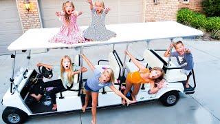 LAST TO LEAVE THE GOLF CART WINS!!