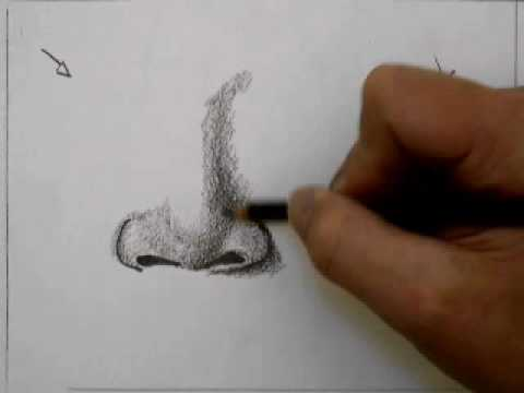 How to draw a nose youtube how to draw a nose ccuart Image collections