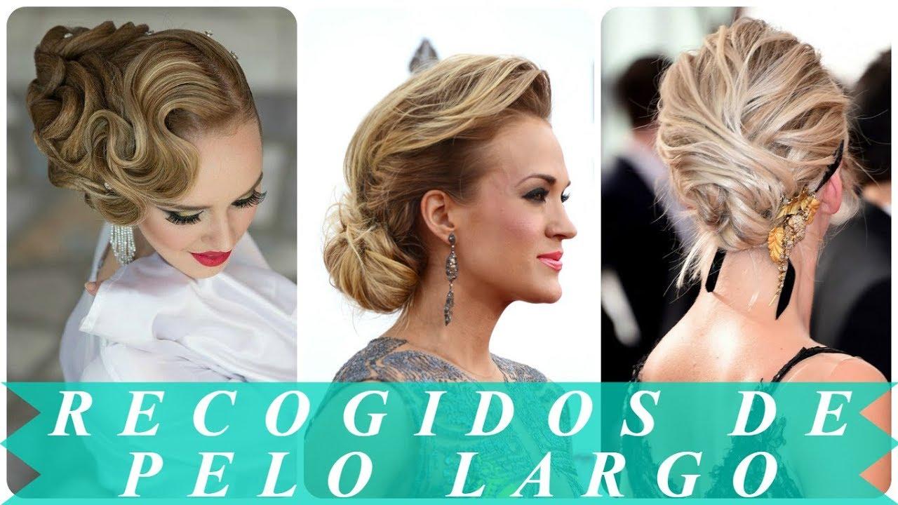 Modernos Peinados Recogidos Para Cabello Largo 2018 Para Mujeres