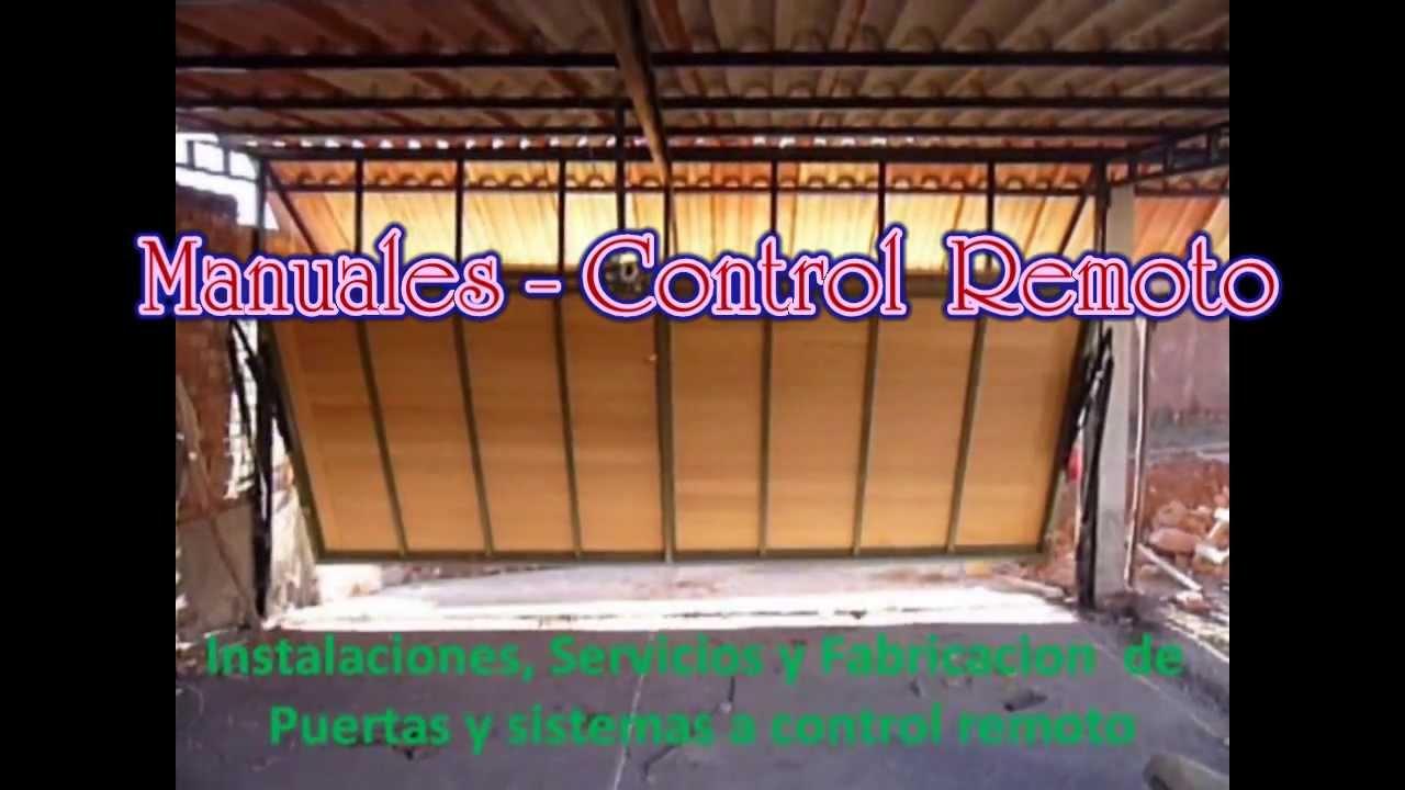 Fabrica de puertas enrollables y control remoto cusco for Fabrica de puertas